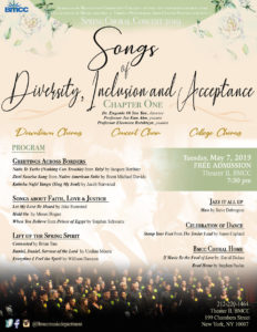 Songs of Diversity, Inclusion and Acceptance CHAPTER ONE